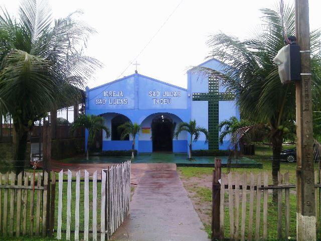 Igreja onde Maria Fausta participaria de uma missa em celebração ao Domingo de Ramos