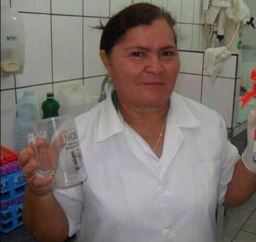Maria Fausta, de 54 anos, morreu na hora. Foto: arquivo pessoal