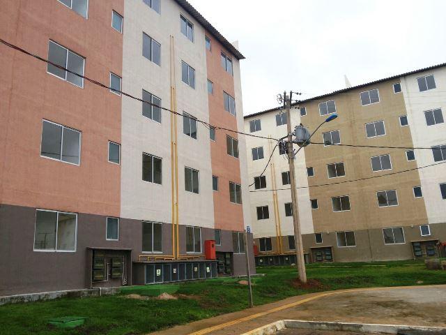 Apartamentos estão prontos esperando apenas a conclusão dos trabalhos da CEA e da Caesa. Fotos: André Silva