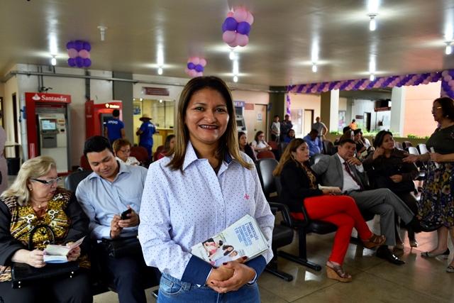Coordenadora do Banco de Leite, Andréa Marvão: local também será ponto de coleta