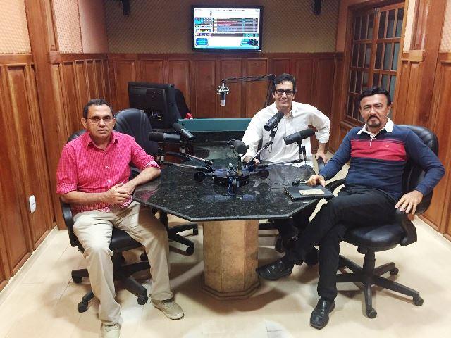 Bancada será formada por Reginaldo Borges (esquerda), Vladmir Belmino (centro) e Olímpio Guarany. Fotos: Divulgação
