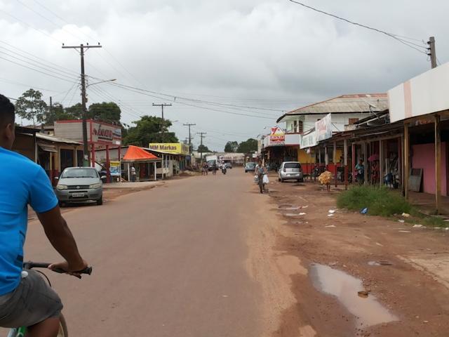 brasil novo rua do comercio