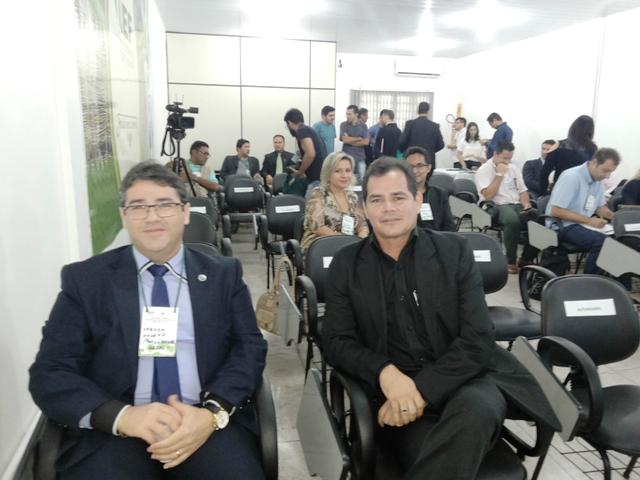 Procurador Nason Galeno e o presidente do IEF,