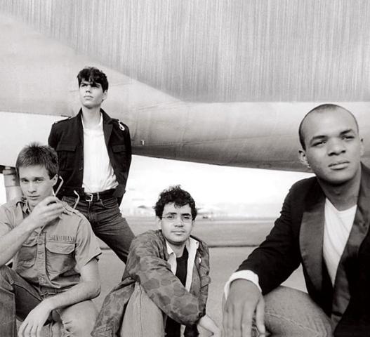 Formação original nos anos 1980. Foto: Divulgação