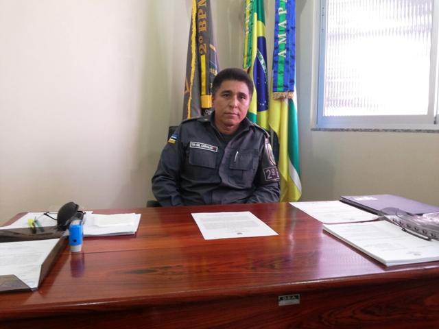 Tenente-coronel Josias Carvalho: incursões nos blocos só com ordem da Justiça