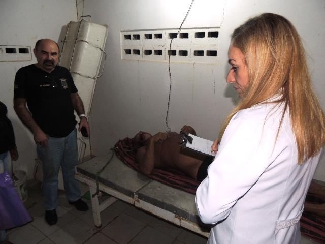 Médico constatou que morte foi provocada por traumatismo craniano. Fotos: Humberto Baía