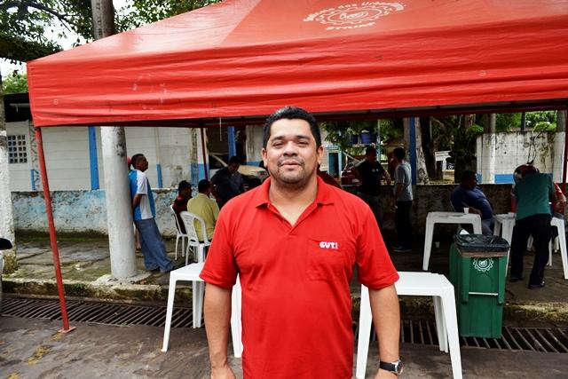 Rogério Pantoja, do Sindicato dos Urbanitários: assalto dentro da estação