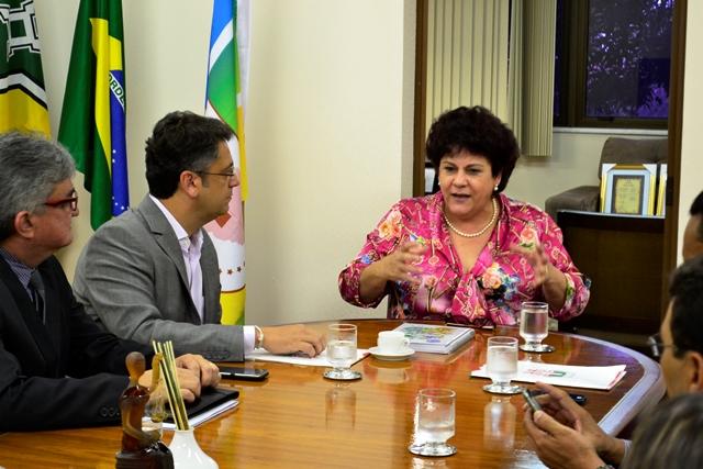 Presidente do Tribunal de Justiça, Suely Pini: prefeitura tem dinheiro pra investir, obras para executar, mas não tem tempo de esperar