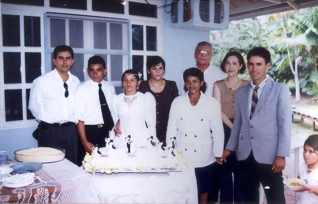 Um dos muitos casamentos realizados nas ilhas