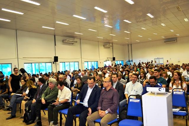 Seminário começou pela manhã nivela com os empresários todas as regras de funcionamento da Zona Franca Verde