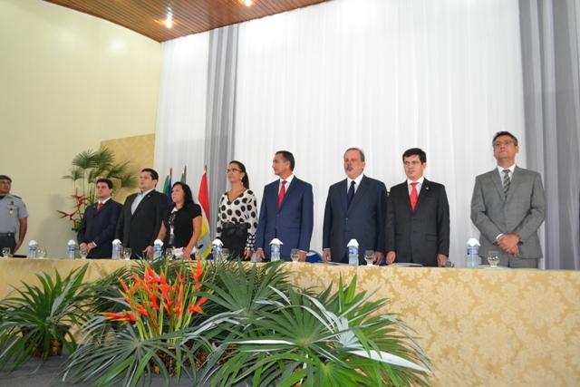 Governo Waldez Gões oficializou destinação de uma área para a nova sede da Suframa. Fotos: André Silva