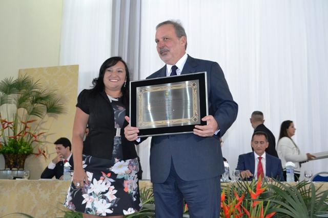Ministro recebeu o título de Cidadão Amapaense pela Alap