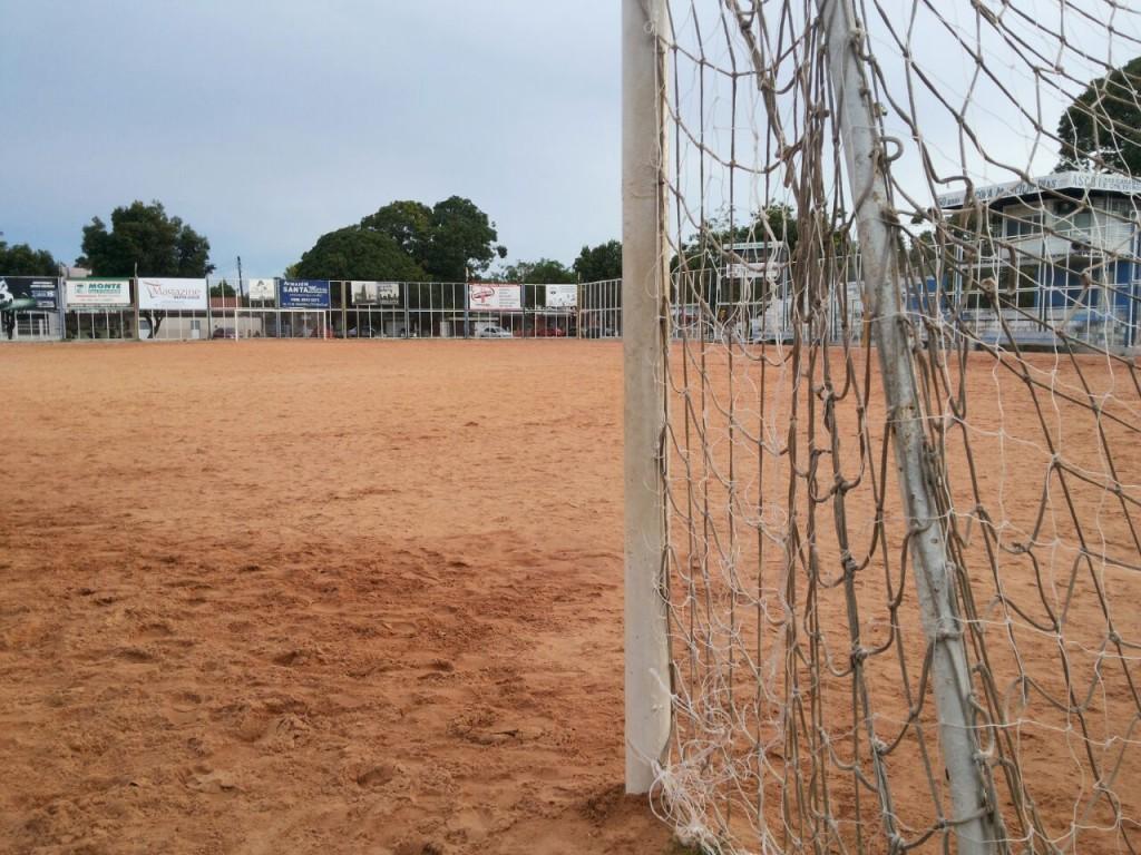 Campo de futebol onde é disputada a Copa Marcílio Dias