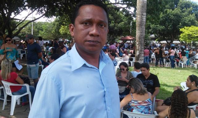Aroldo Rabelo, presidente do Sinsepeap: que parcelem os salários dos secretários e deputados