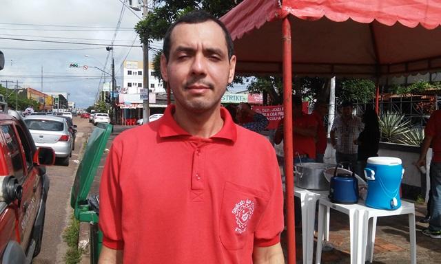 Audrey Cardoso, presidente do Sindicato dos Urbanitários: partidos usam a empresa e benefício próprio