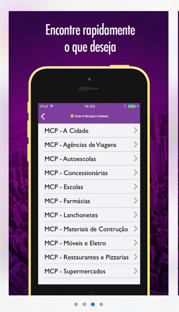 App localiza estabelecimentos comerciais por categoria