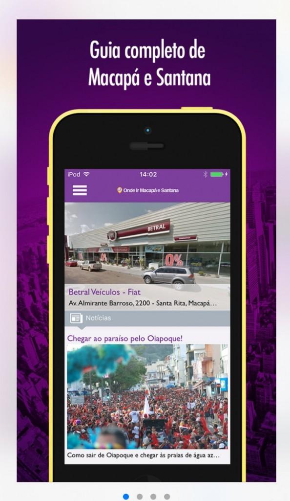 App está disponível nas plataformas Android e iOS