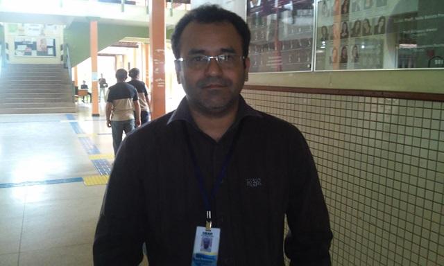 Gean Nascimento, presidente do Sindicato dos Técnicos da Ueap: estamos devendo muito