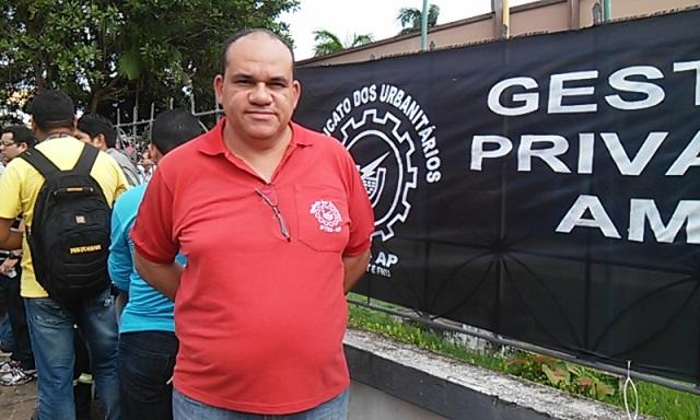 """Luiz Alberto, servidor da CEA: """"não vamos aceitar interferência política"""". Fotos: Cássia Lima"""