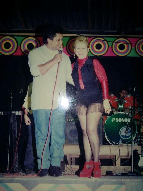 O Rei do Brega Roberto Villar e Janete Silva