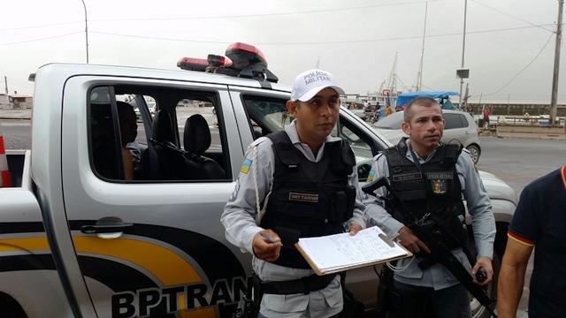 Policiais do BPTran descobriram que o motorista é reincidente