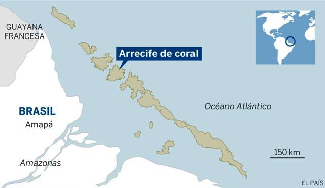 Local onde ficam os recifes (ou arrecife) de coral. Foto: Divulgação