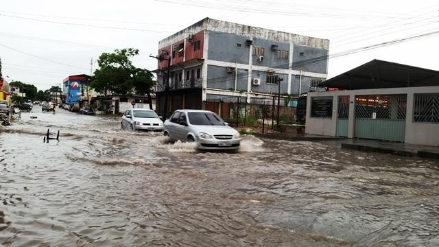 Período de chuva é motivo de preocupação em todo o estado. Foto: Seles Nafes