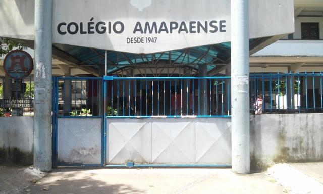 No Colégio Amapaense 100% dos professores já pararam