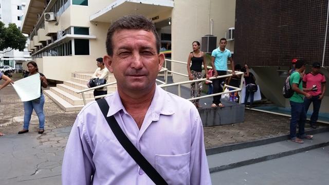 Paulo Ronaldo da Silva Balieiro, presidente da Associação de Moradores: não pode ser chácara. Fotos: Seles Nafes
