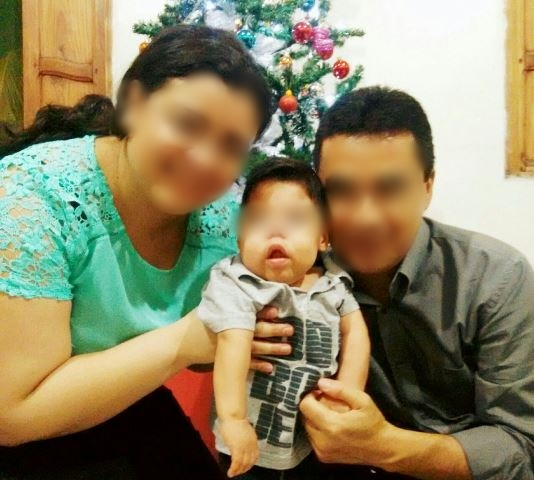 Casal estava concluindo processo de adoção. Foto: Arquivo familiar