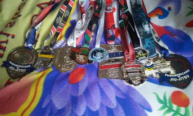 Medalhas em pouco tempo no esporte