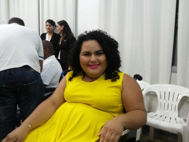 Yndiraima Alessandra é bailarina e paratleta