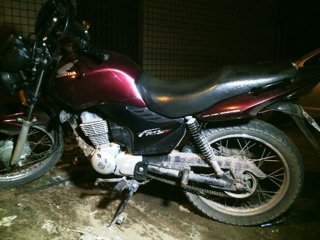 Moto foi roubada na noite anterior