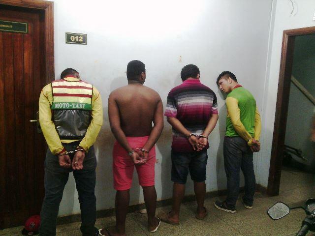 Acusados presos em dois bairros de Macapá com 3 motos furtadas: uma saiu de dentro do Detran em 2013