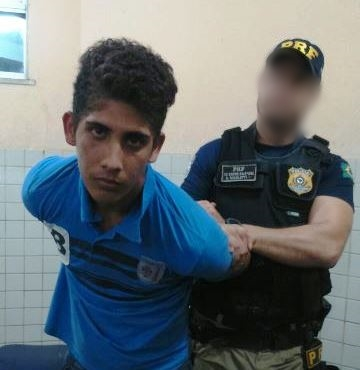 José Alves foi preso pela Polícia Rodoviária Federal em Santarém. Foto: Arquivo