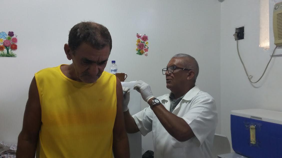 Antônio Chucre: filas para idosos e crianças