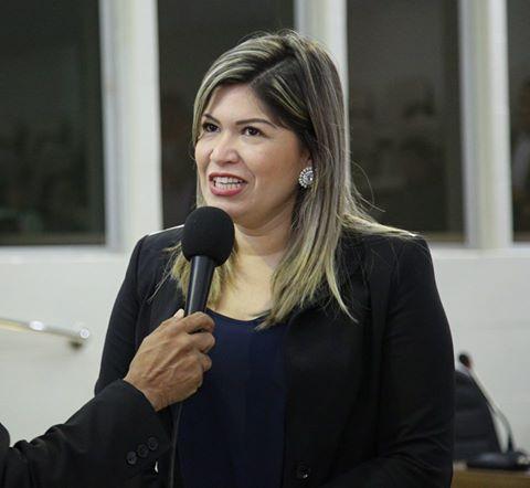 Aline Gurgel, vereadora