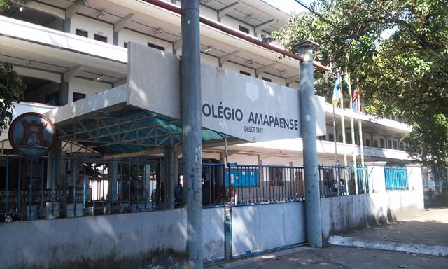 Colégio Amapaense, uma das escolas que receberá o ensino integral