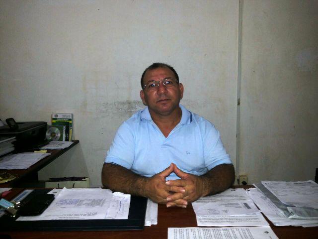 Diretor da Escola Lima Neto. Fotos: André Silva