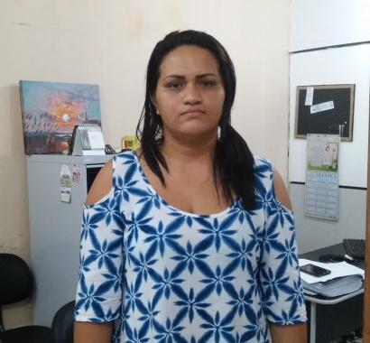 Luciana Silva, tia do Kaique