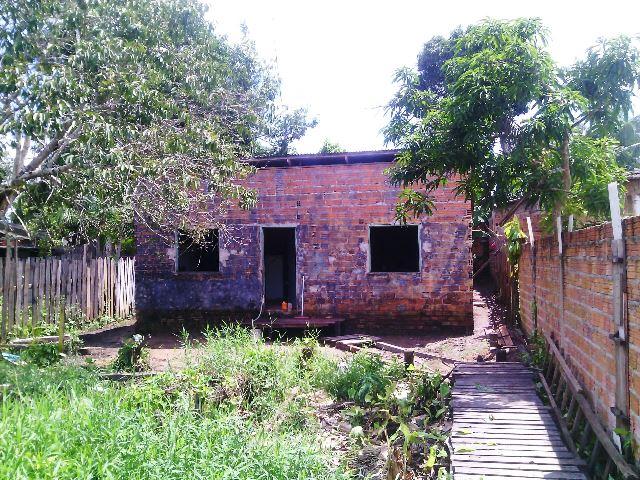 Casa passou alguns meses abandonada. Fotos: Olho de Boto