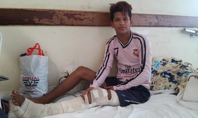 Samuel aguarda cirurgia há 46 dias