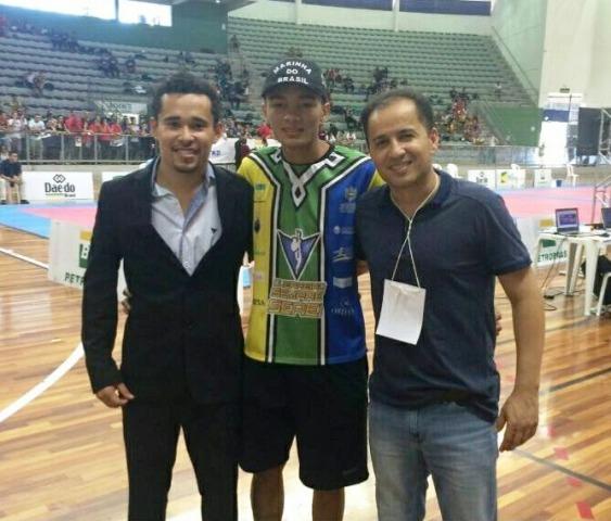 Venilton, Bruno Igreja e Junior