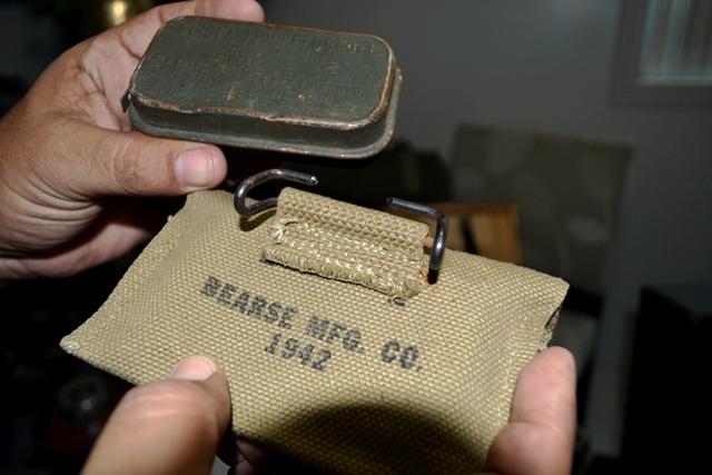 Kit de primeiros socorros que nunca foi usado