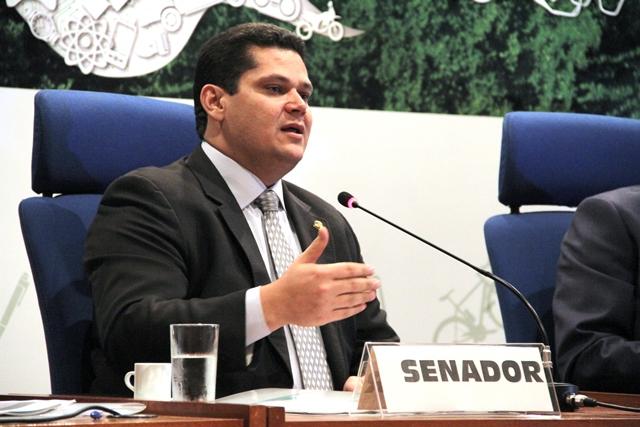 Senador Davi Alcolumbre, presidente do DEM no Amapá. Foto: Arquivo