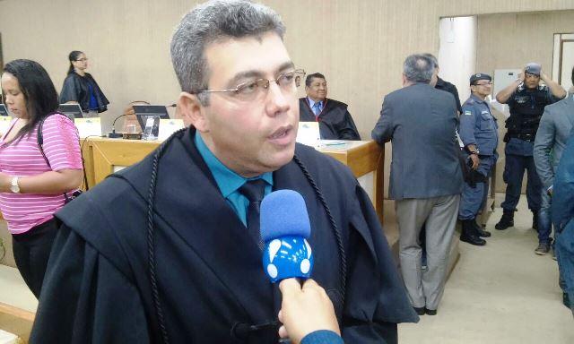 Riano Valente, advogado de Jorge Amanajás: Fotos: Cássia Lima