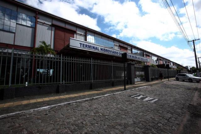 Terminal hidroviário de Belém inaugurado há 2 anos