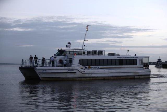 A partida para Belém ocorre às quarta-feiras, às 6h, no Porto do Grego
