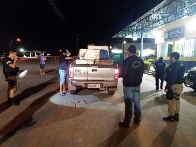 Operação contou com várias forças policiais