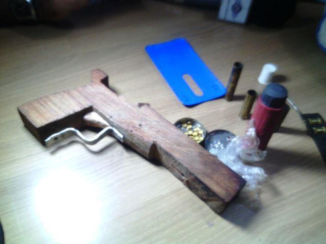 Arma usada pelo adolescente